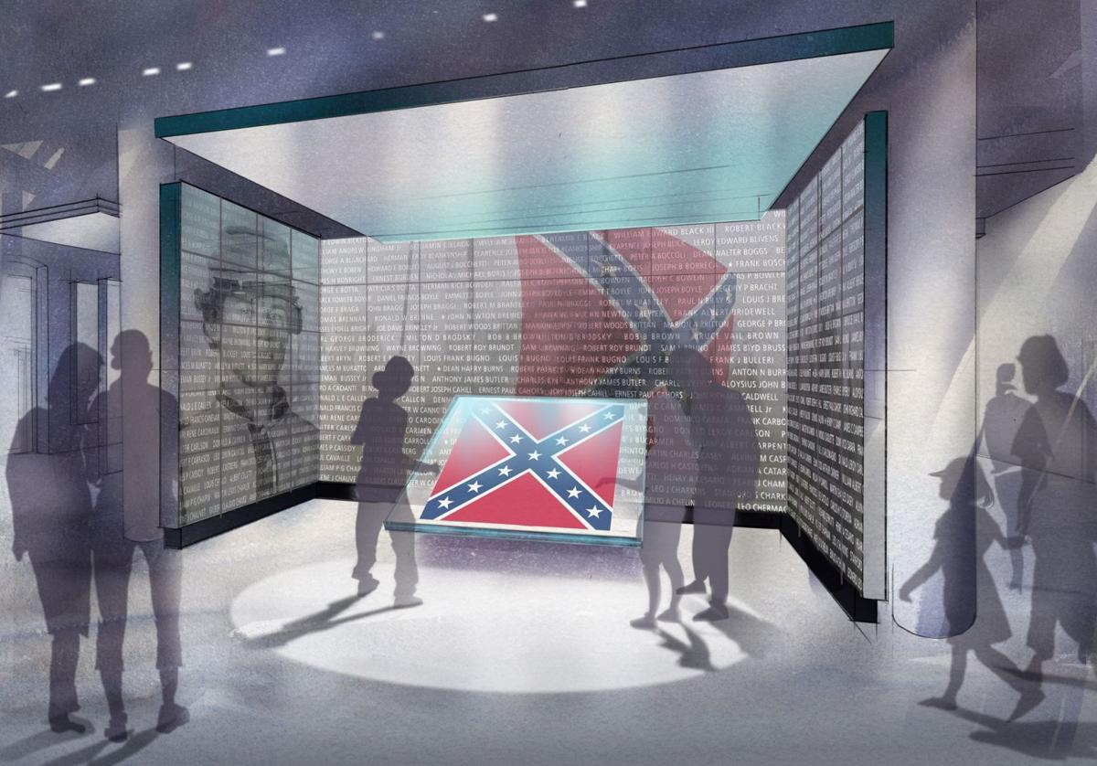 Flag plan could cost taxpayers $5.3M Expansion sought for Confederate museum