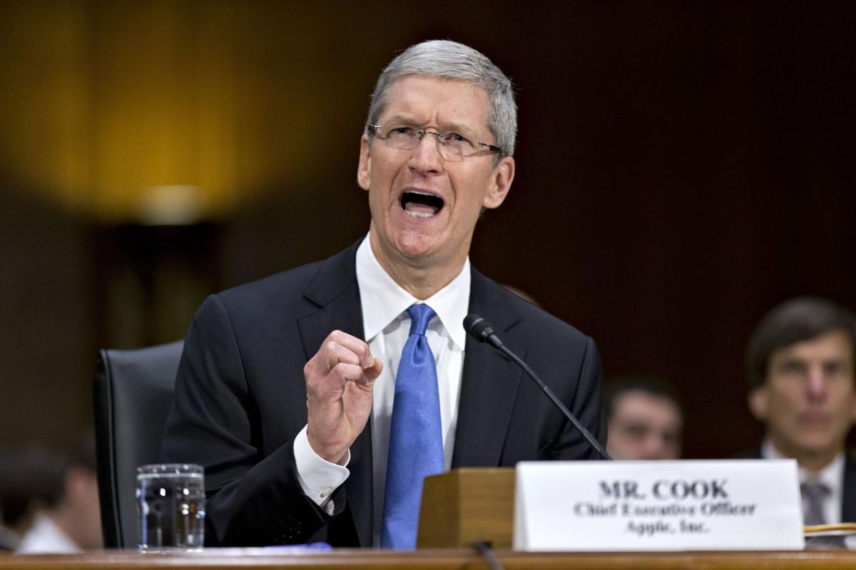 Apple CEO tells senators iPhone maker pays 'all' taxes