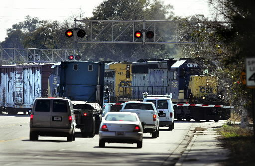 Trains derail frustrated drivers