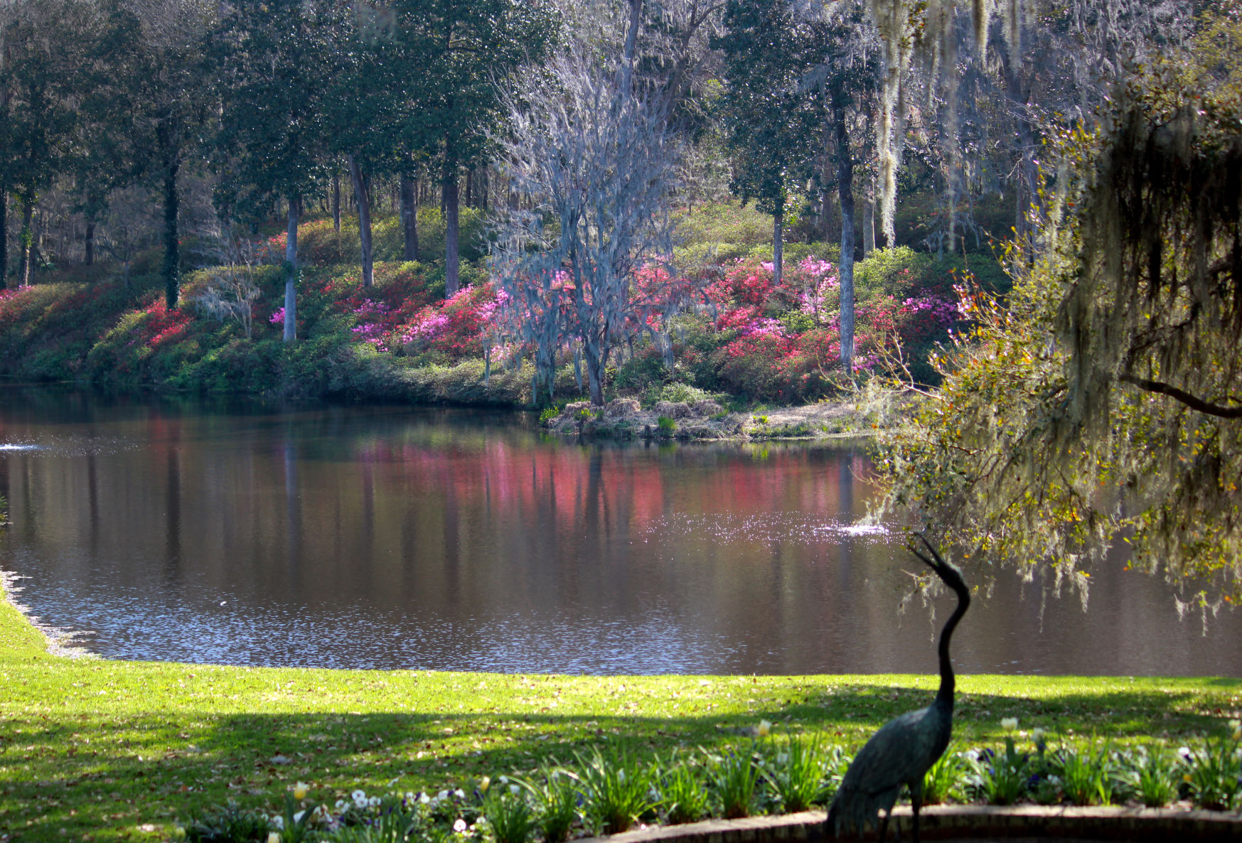 The Gardens At Middleton Place Will Highlight Spring Blooms With Wine  Tastings Set Against The Backdrop Of Its Historic Gardens. Provided/ Middleton Place.