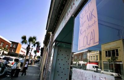 Changing face of Upper King Street has some store owners protesting while others are going with the flow