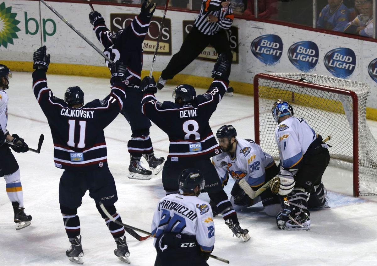 Joe Devin scores in 3 OT; Stingrays advance to Kelly Cup Finals