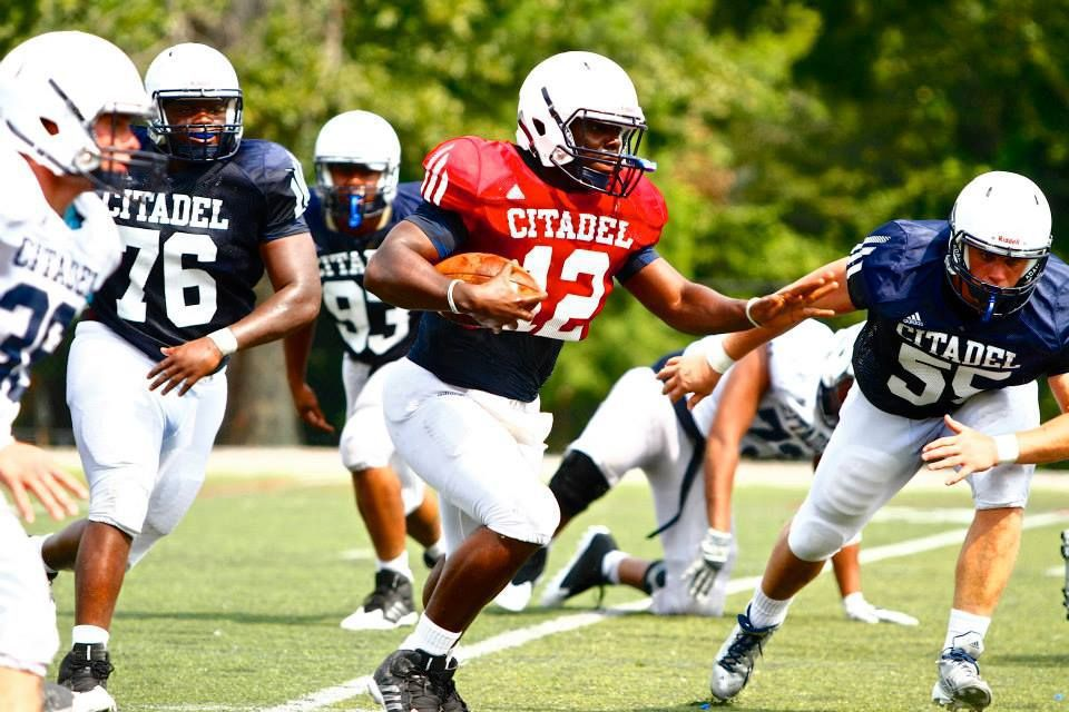 Citadel shows 'flashes of a good team', coach Mike Houston says
