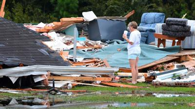 'We just held on for dear life' Tornado formed from coastal storms