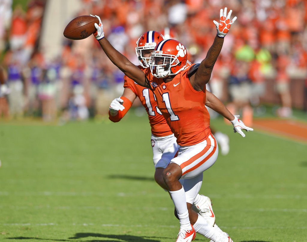 Big Fourth Quarter Pushes Clemson Past BC