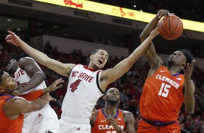 Clemson NC State Basketball