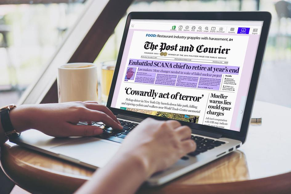 A new e-Edition is coming for The Post and Courier  Here's