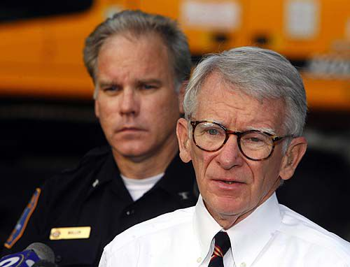 Mayor Riley speaks for a grieving city
