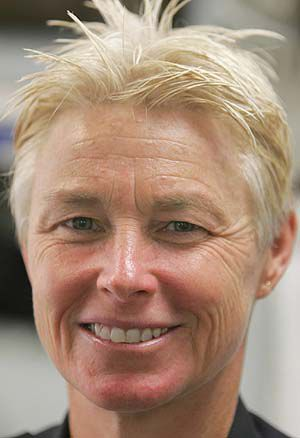 Mullen promotes 1st female to captain