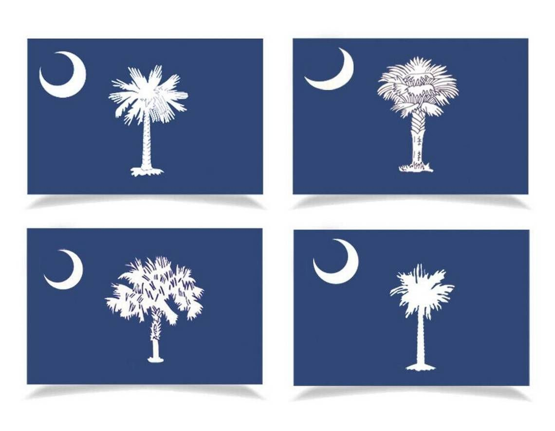 South Carolina flags today