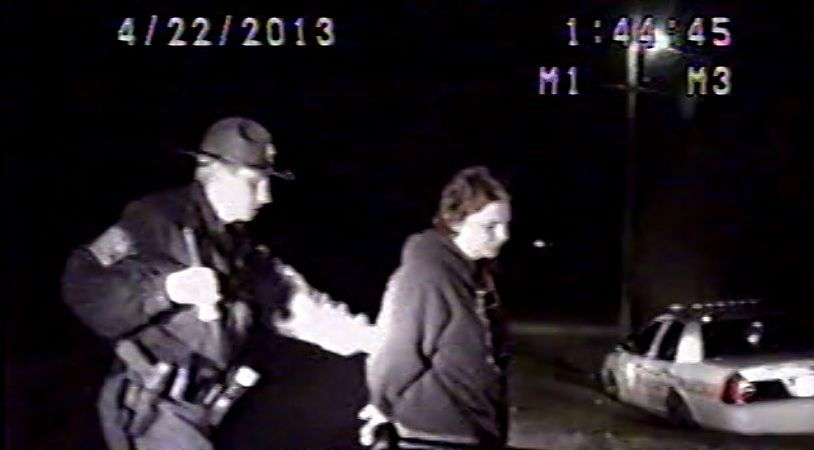 Video shows North Charleston police officer's DUI arrest after crash