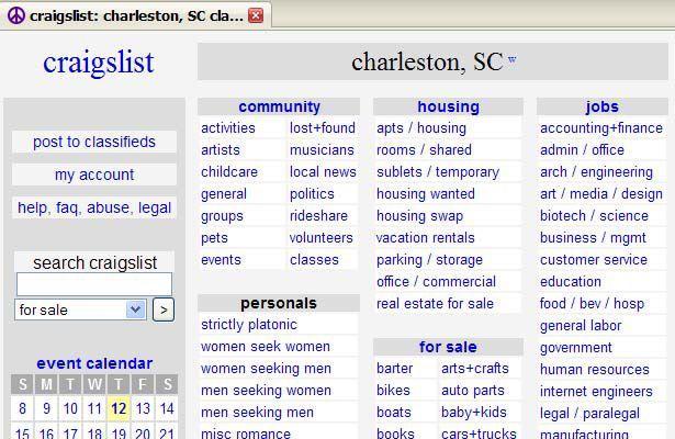 Craigslist at center of sex trade storm | News ...