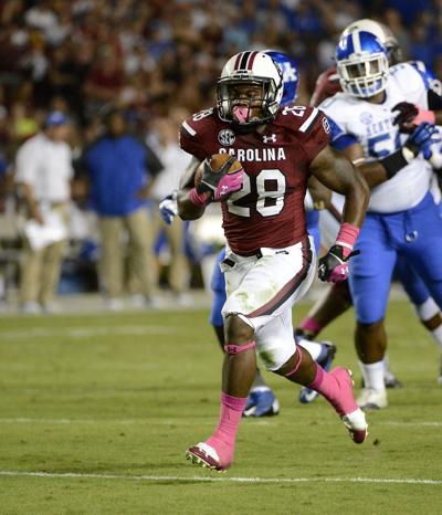 Steve Spurrier on Mike Davis: 'If he has a big year, he's going to go pro'