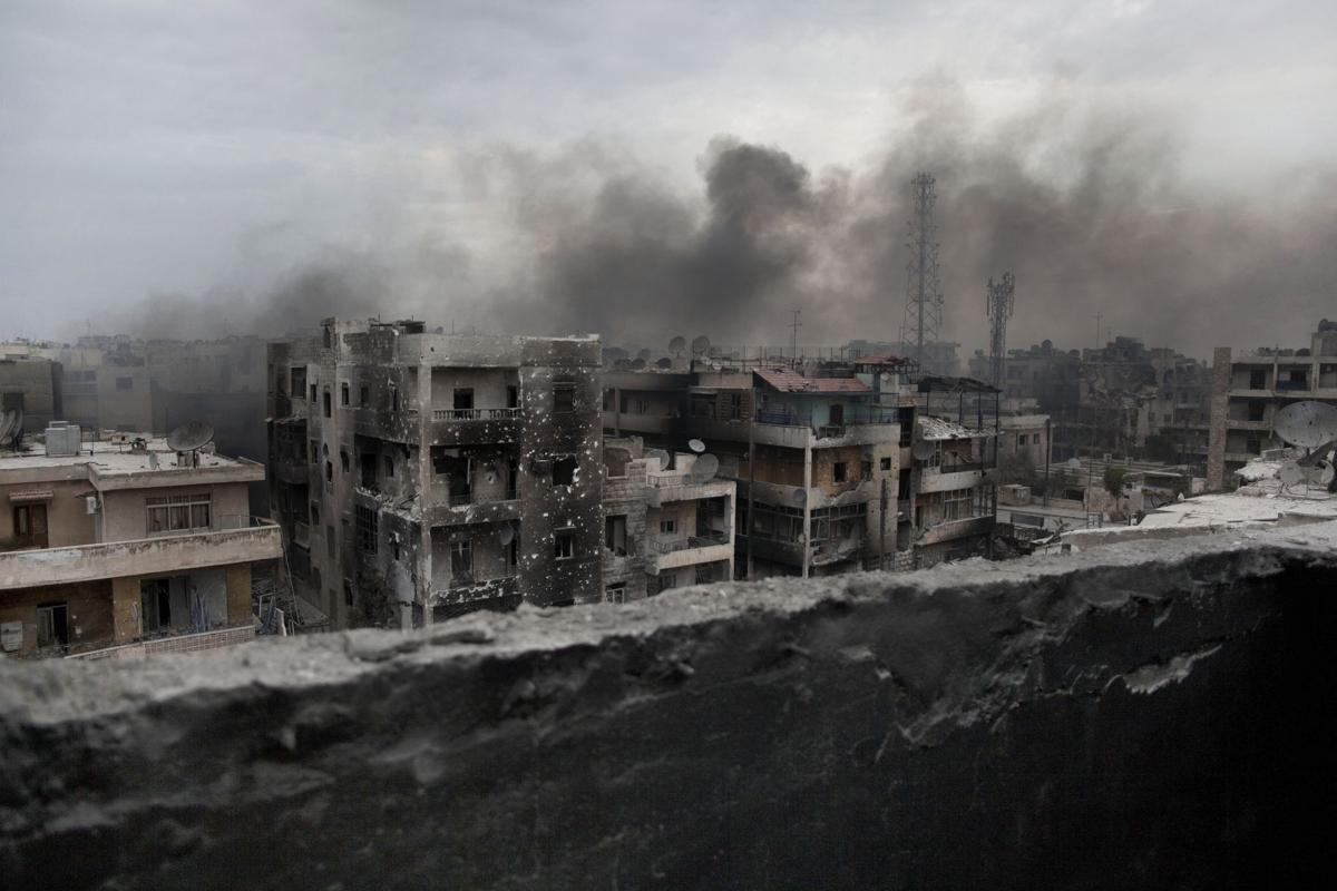 Surprise progress in Syria
