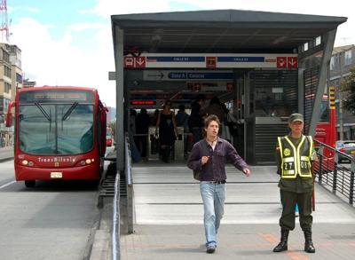 BRT in Bogota