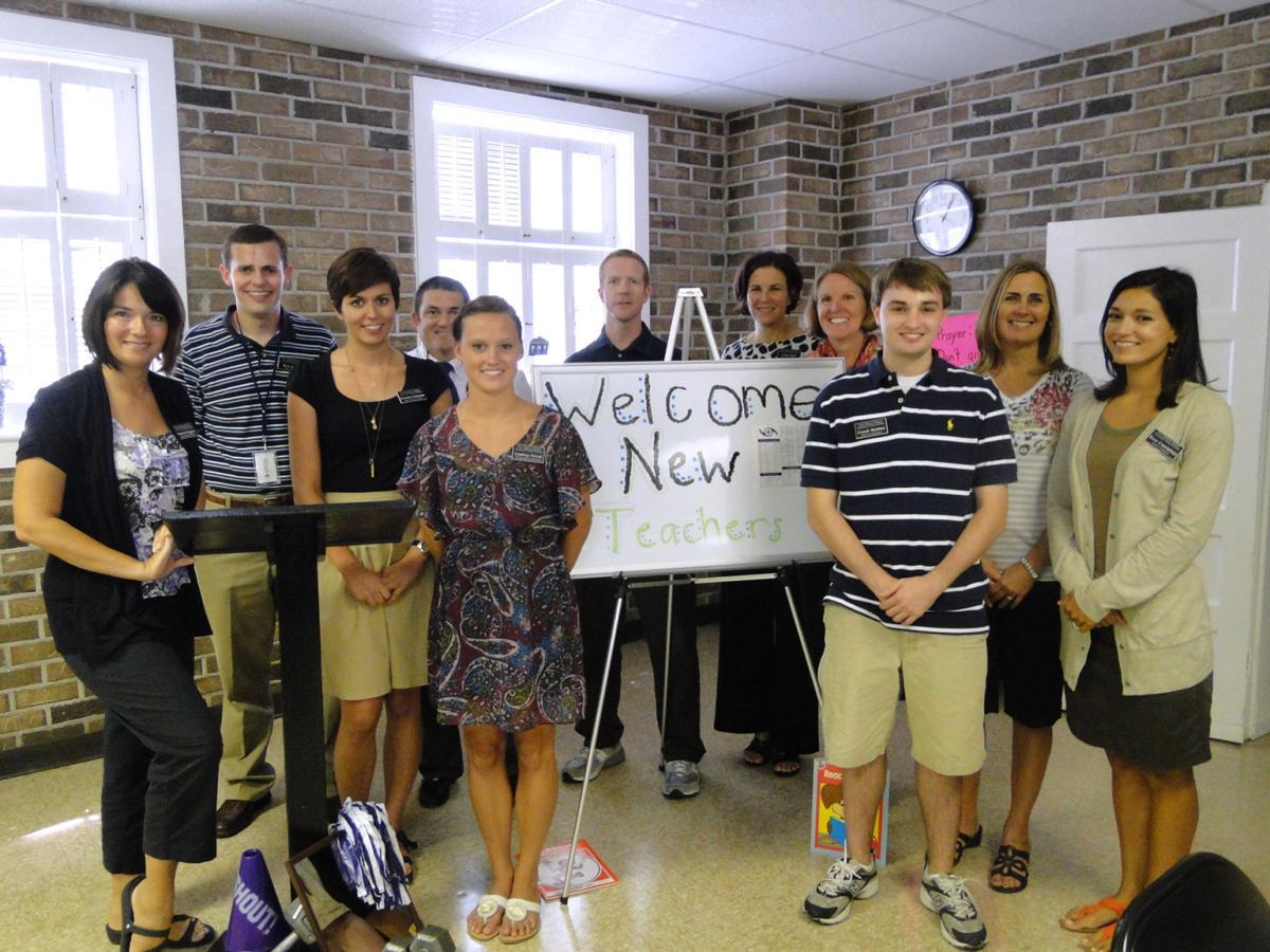 First Baptist welcomes teachers
