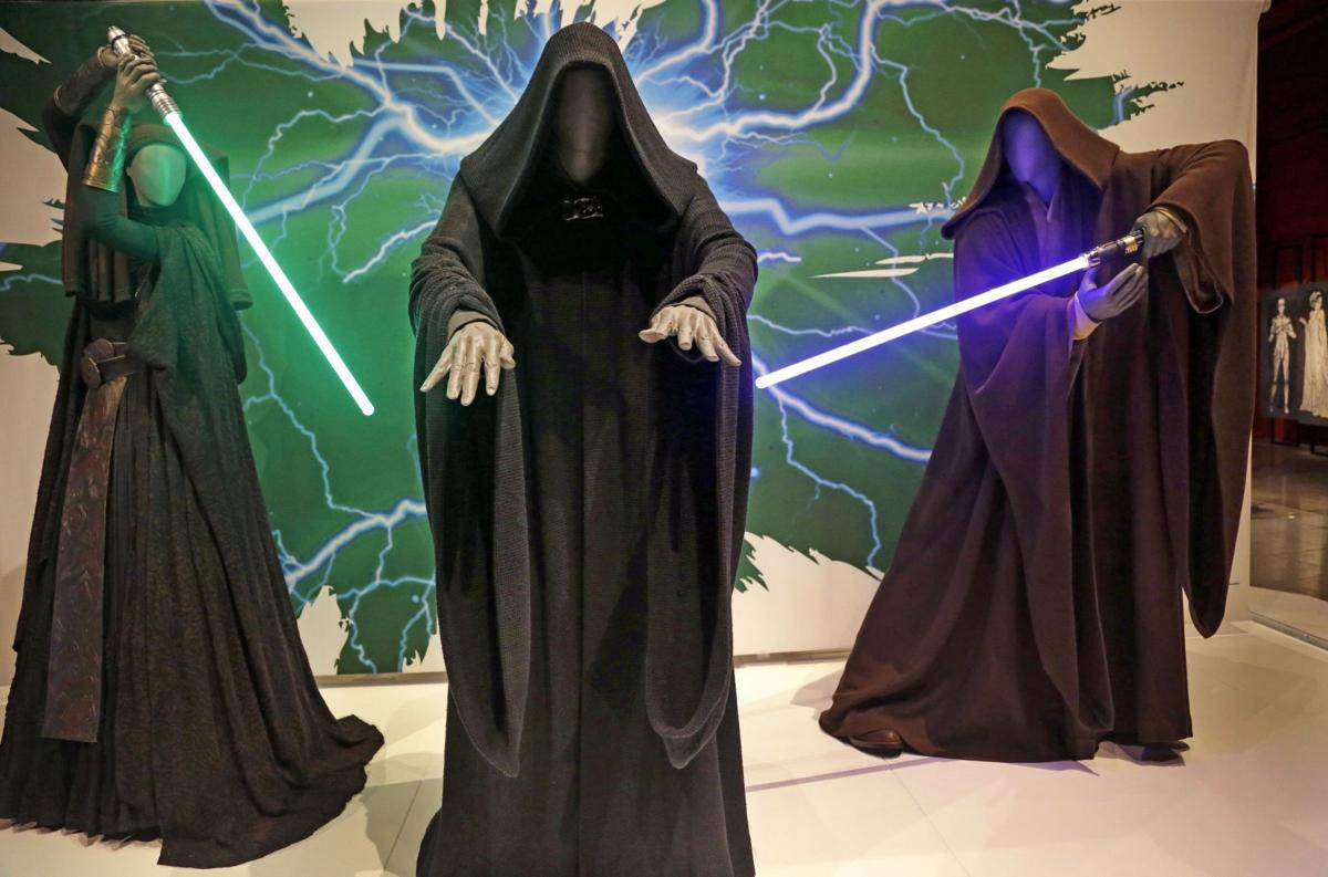 'Rebel, Jedi, Princess, Queen' 'Star Wars' exhibit shows the force is with the costumes
