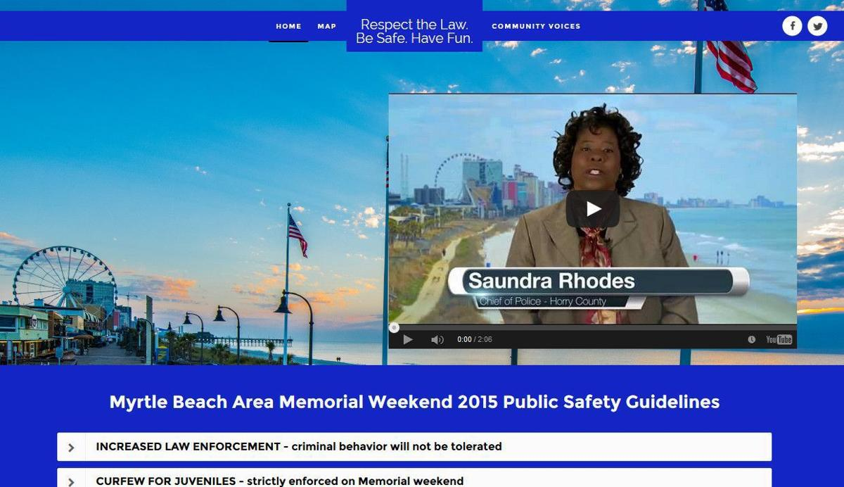 Myrtle Beach unveils campaign about Memorial Day safety plan