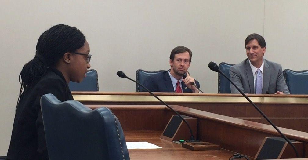 High schoolers urge senators to pass law addressing teen dating violence