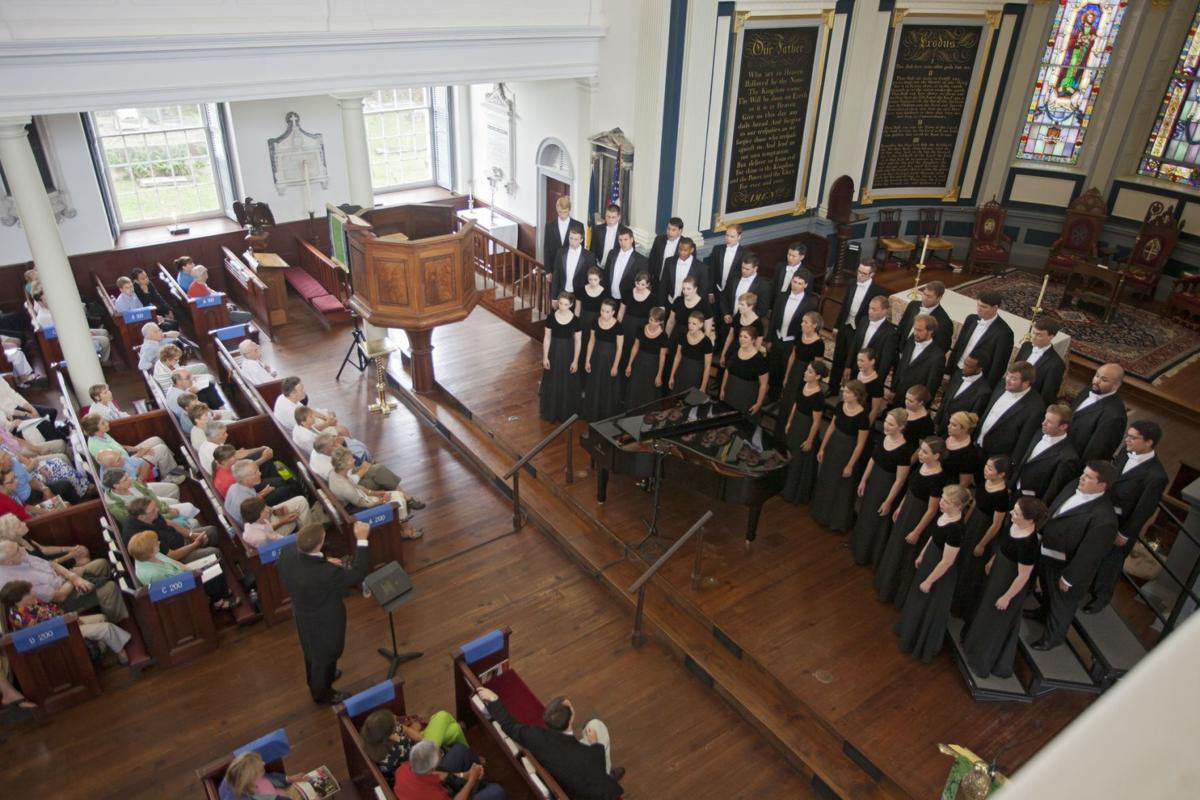 An excellent Westminster Choir makes the most of 'Legends'