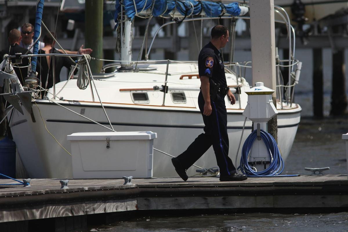 Crews searching St. Johns Yacht Club for missing man