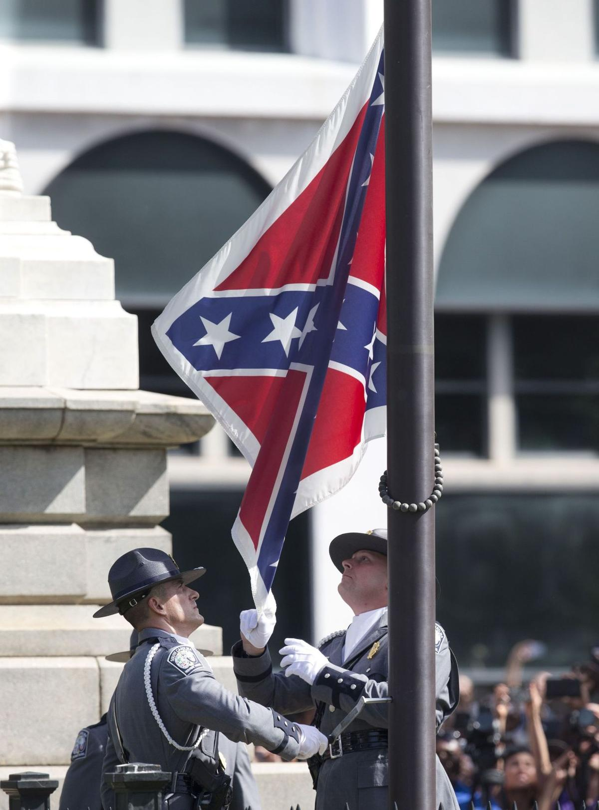 Palmetto Sunrise: Confederate flag meeting today