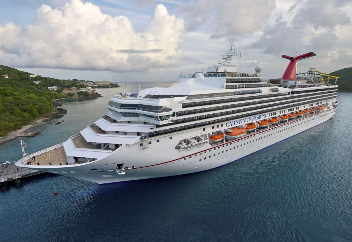 Newer Larger Carnival Sunshine To Call Charleston Home Beginning - Cruise ships out of charleston south carolina