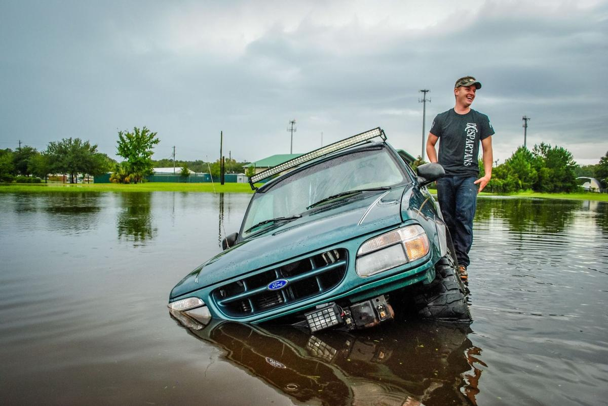Flooding on Saturday - Staff photos