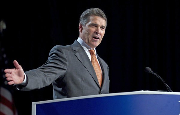 Rick Perry always comes up a winner
