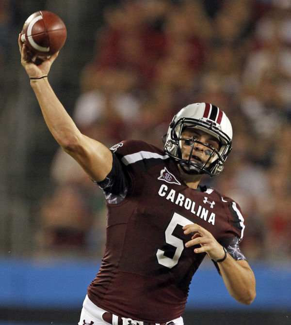 Spurrier displeased with South Carolina passing game