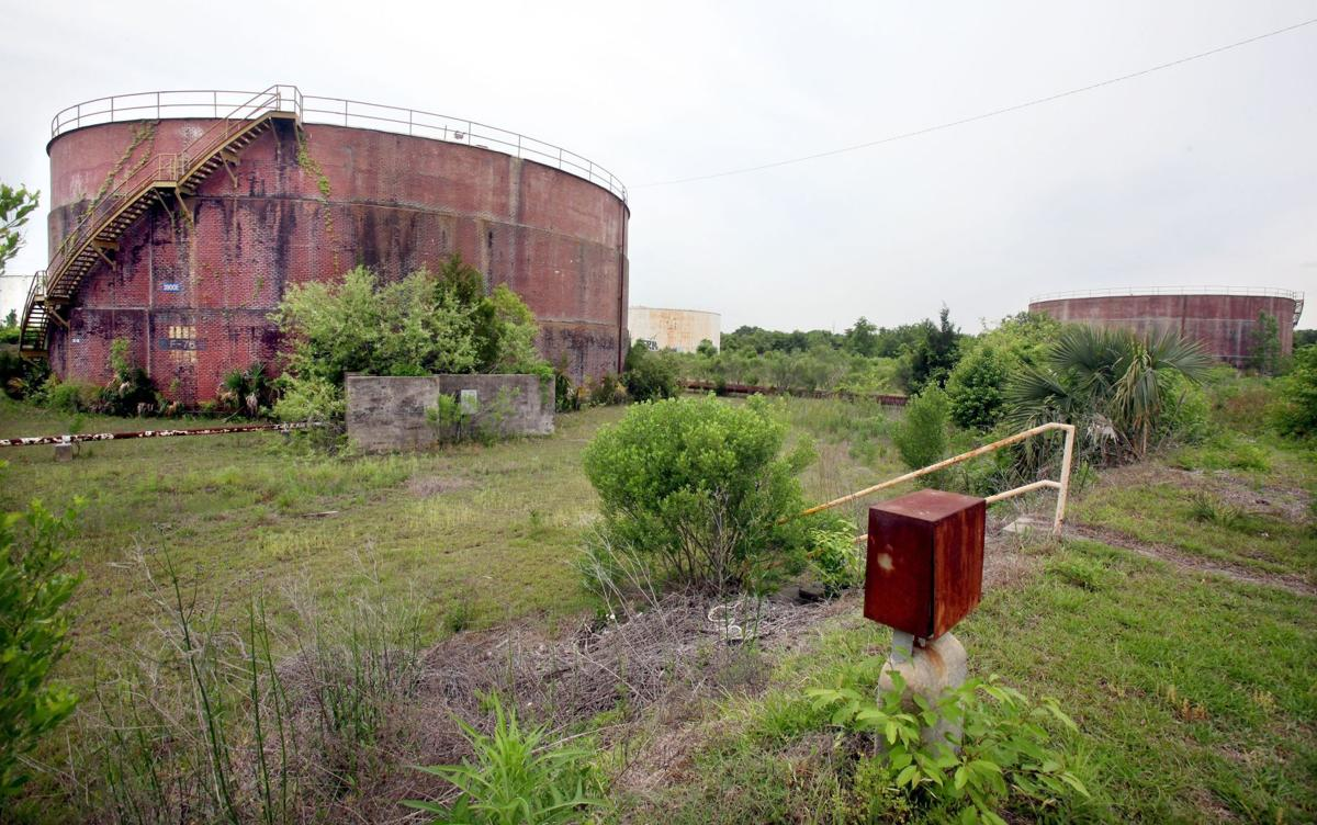 Old Navy base's tank farm to be demolished
