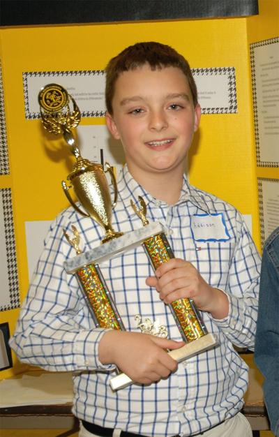 Area students excel at state science fair