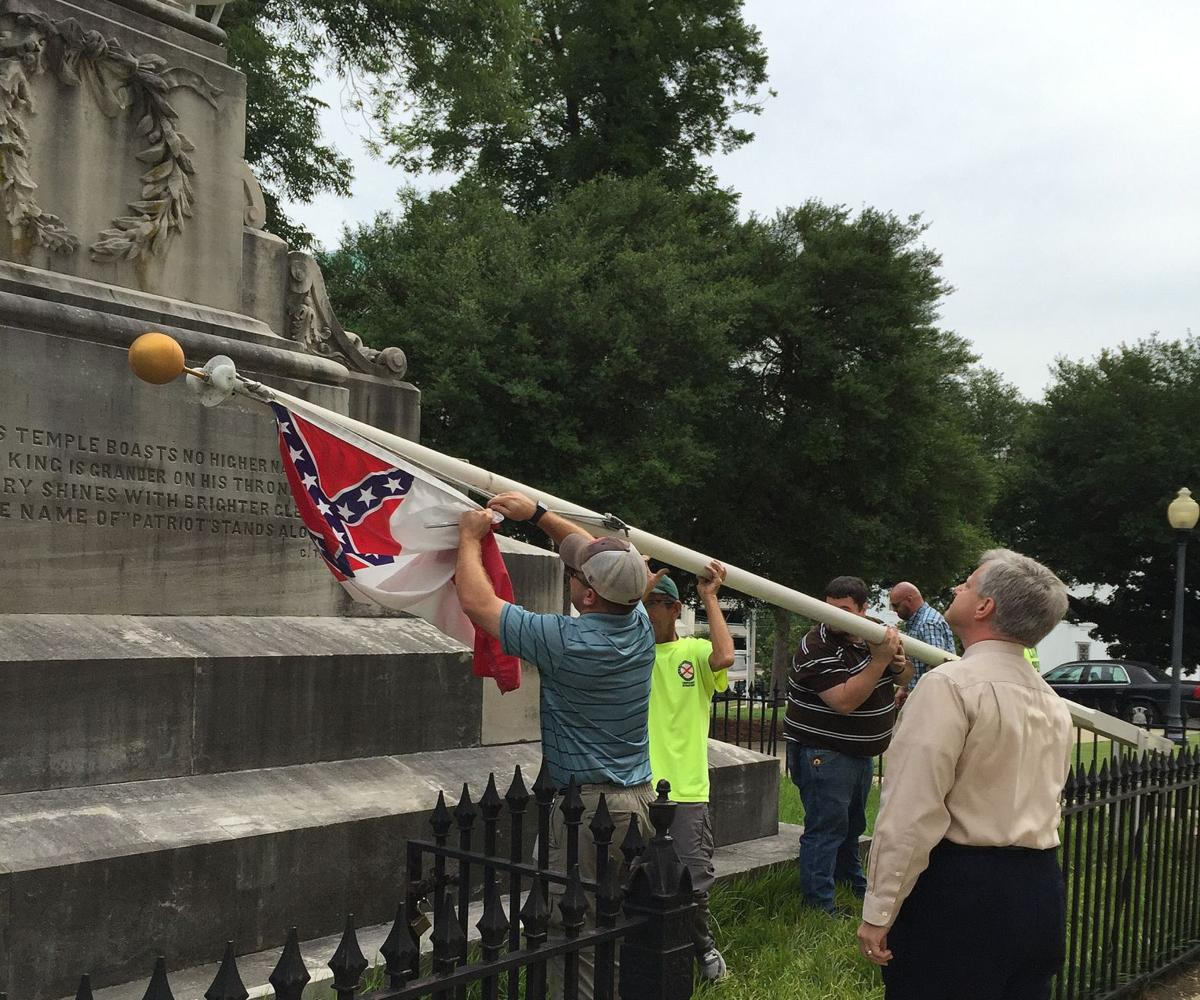 Alabama governor orders Confederate flags removed from state Capitol