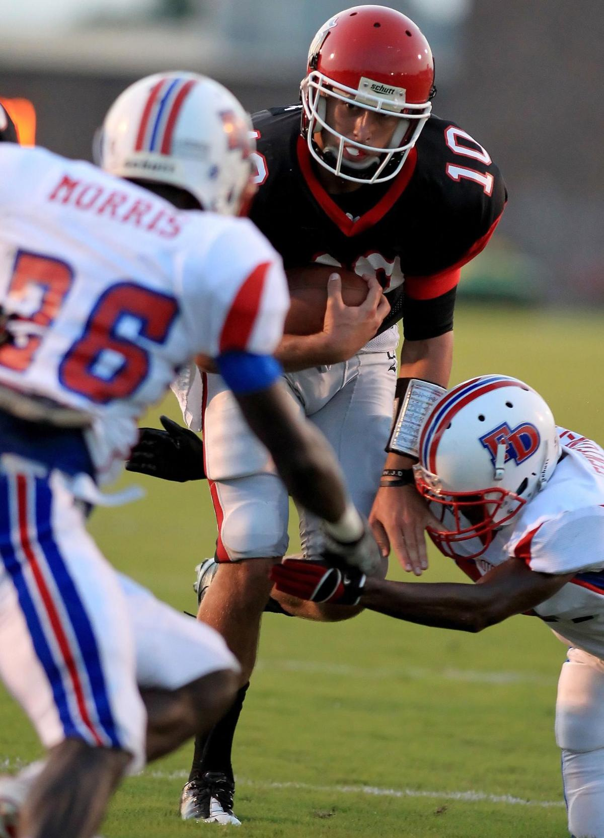 Park powers Knights Stratford holds off Fort Dorchester's late rally