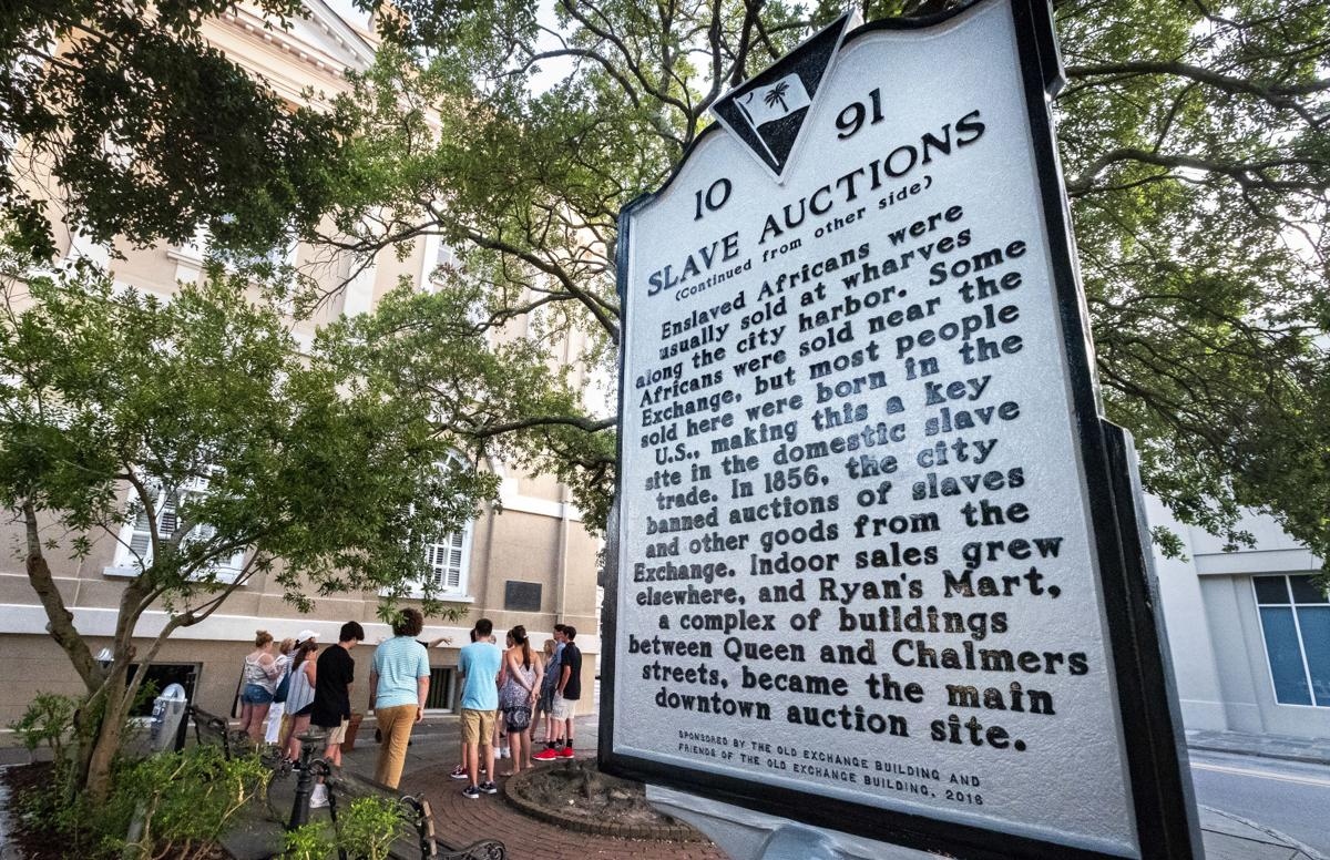 slave auction marker