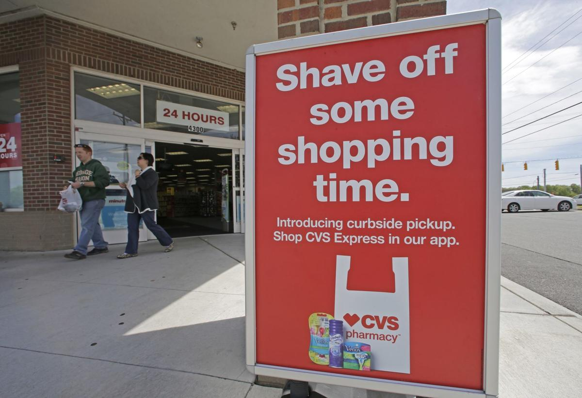 Drugstore chain CVS pushes convenience with curbside pickups