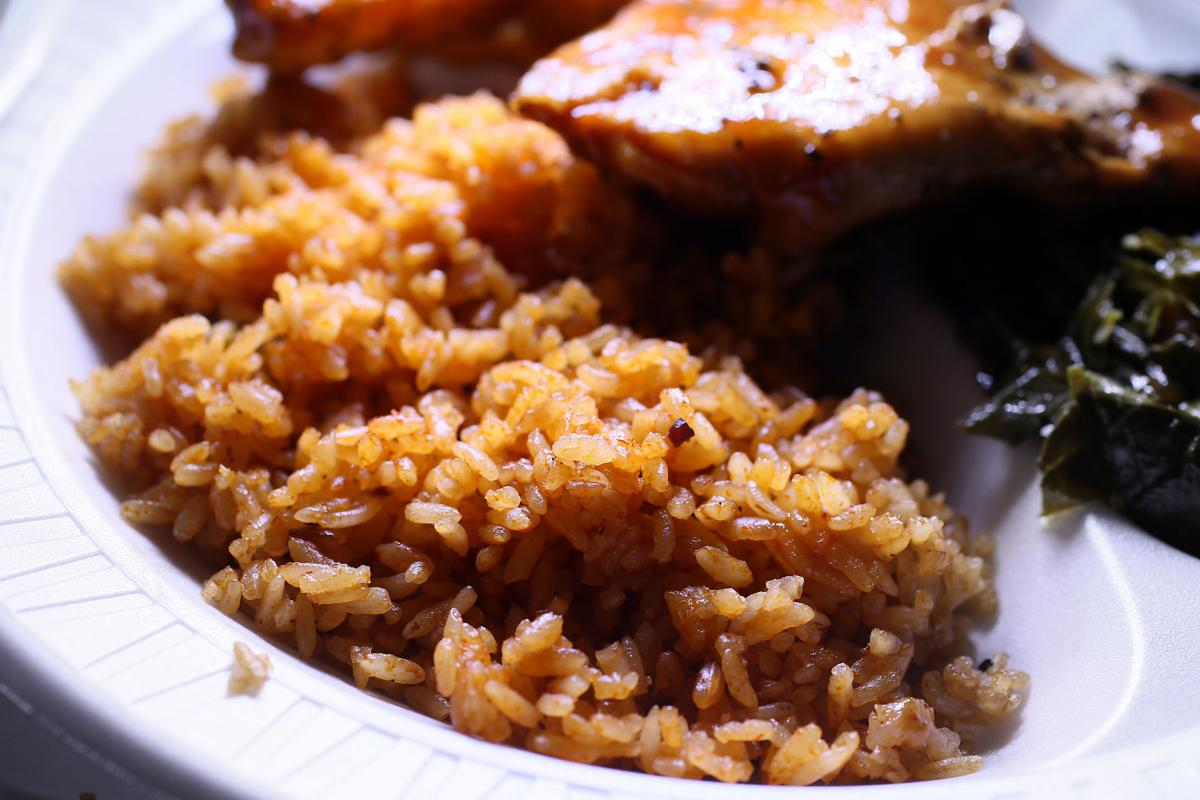 Red Rice from Bertha's Kitchen