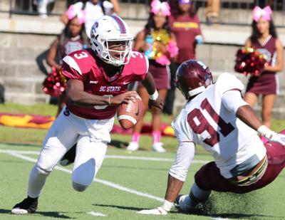 S.C. State quarterback Tyrece Nick