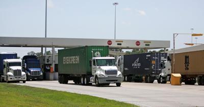 Port truckers