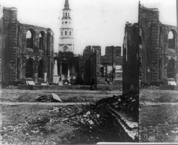 Charleston at War: Charleston beaten down by Great Fire