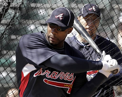 Look out! Top Braves prospect's drives are doing serious damage