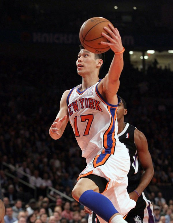 Lin fortune cookie sign at Knicks game causes a stir