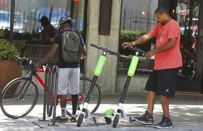 Dockless Scooter Scuffle