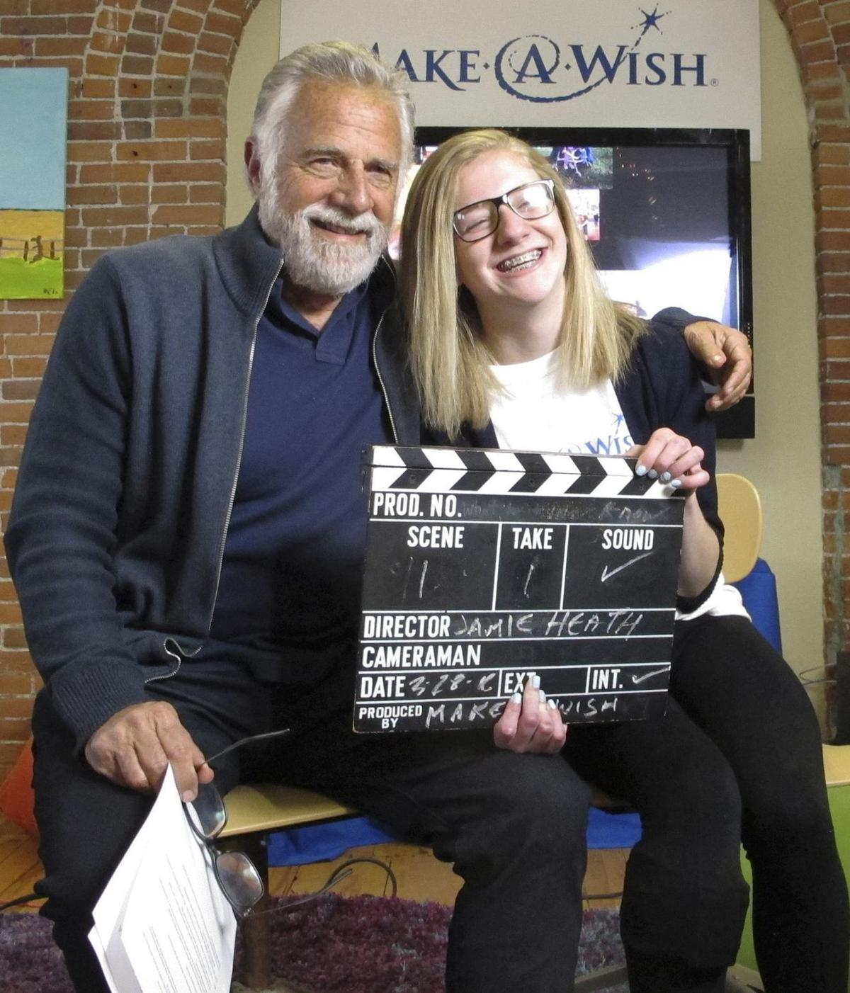'Most Interesting Man' helps Make-a-Wish in Vermont