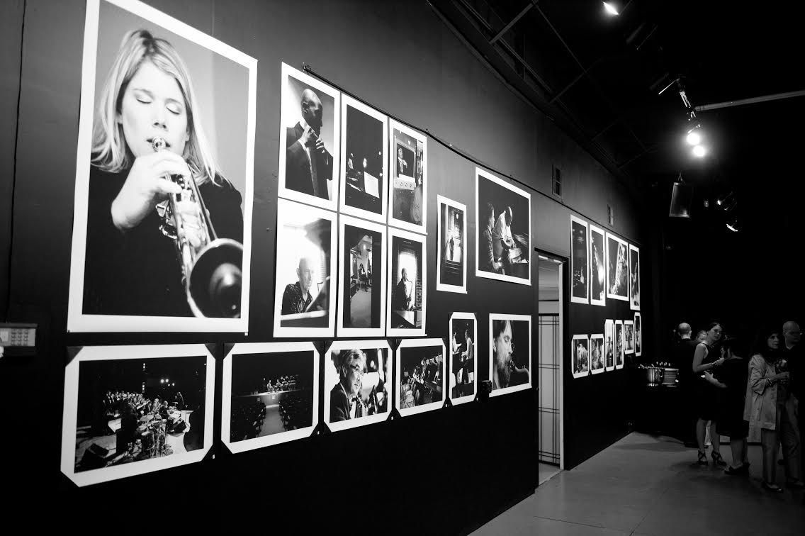 Photos of local jazz artists on display at Jericho Advisors