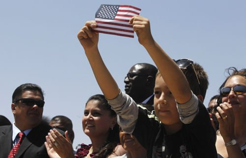 President tackles immigration reform in visit to El Paso