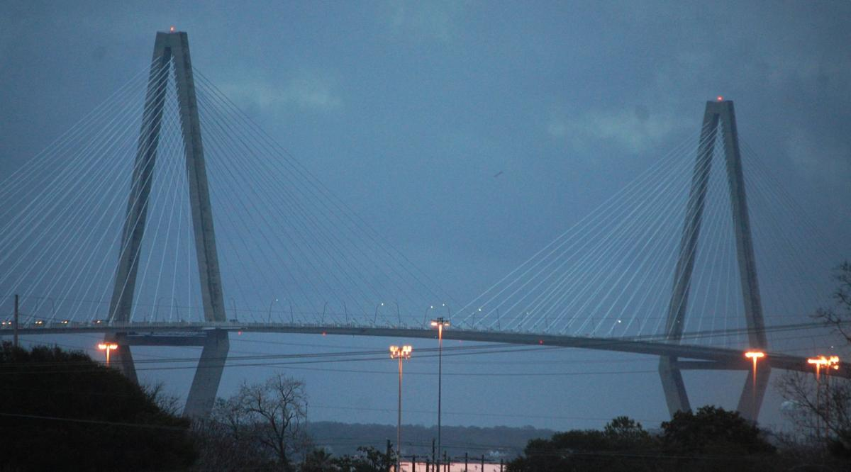Wind and rain in the forecast for Charleston today