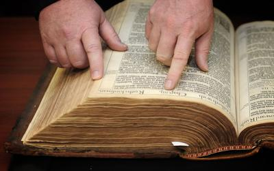 King James Bible rare find for Md. university library
