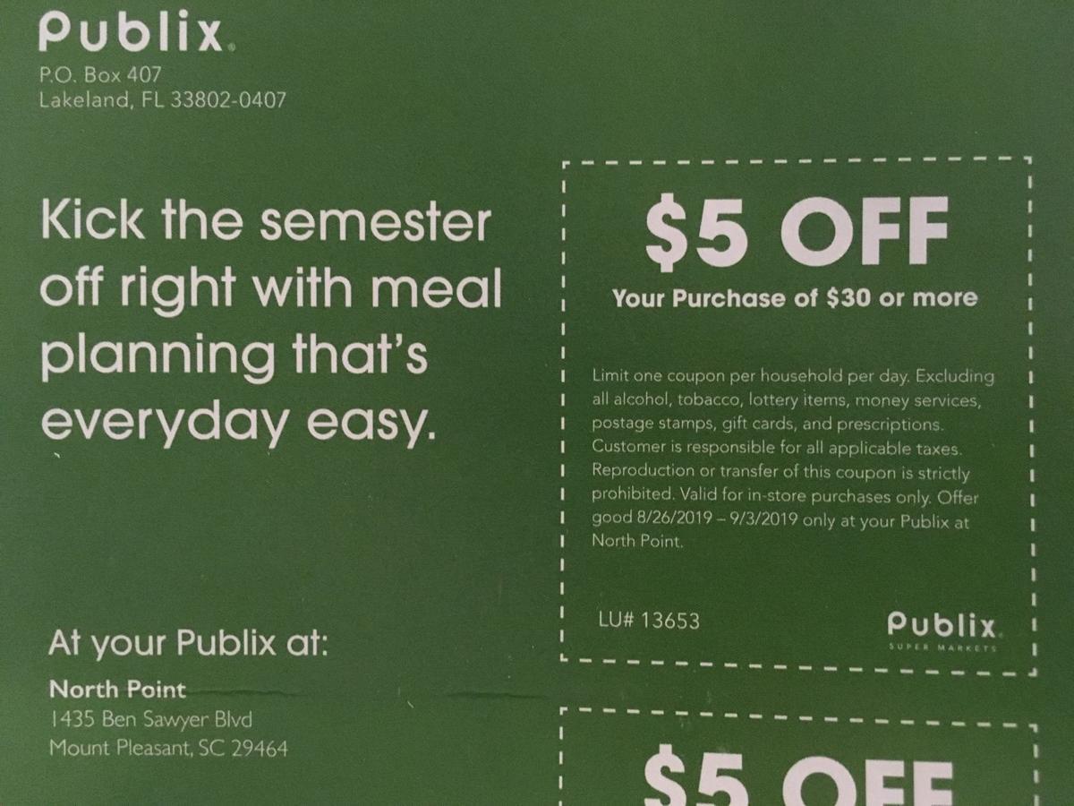Publix coupons | | postandcourier com