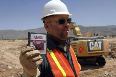 Atari games unearthed from landfill; now the question is, who gets them?